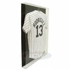 1x BCW Acrylic Large Jersey Display - Black Back - NBA, MLS, MLB, NCAA, NHL, NFL