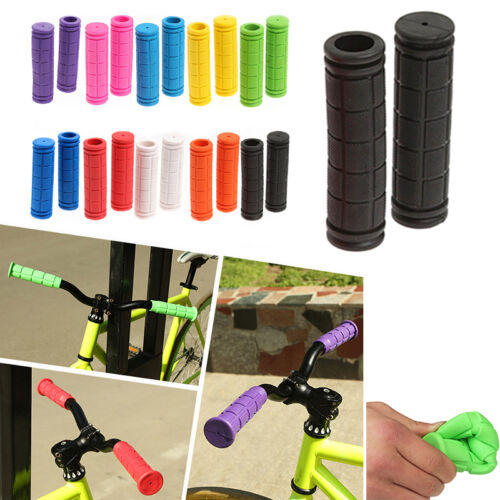 Motorcycle Cycling MTB Kids Bike Rubber Hand Grips Handle Bar For BMX 13cm//5.12