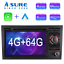 Indexbild 1 - 8 Core Android 10 4+64GB Autoradio DVD GPS Navi DAB+ für Audi A4 Avant Combi S4
