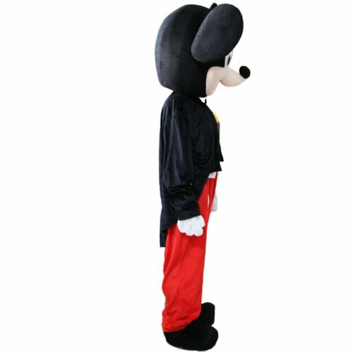 Mickey Mouse Mascot Costume Adult Halloween BIRTHDAY Disney Boy Party Minnie