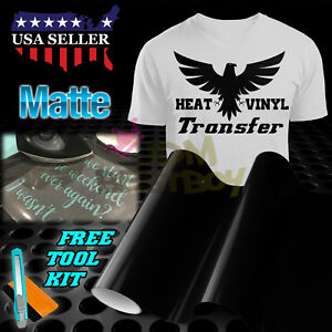 "Matte Yellow Heat Transfer Vinyl HTV T-Shirt 20/"" Wide Roll Iron On Heat Press"