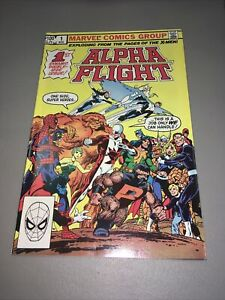 ALPHA FLIGHT #1 Marvel FIRST ISSUE! JOHN BYRNE COVER & ART! GUARDIAN APP