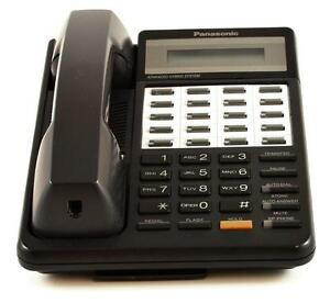 lot of 5 refurbished panasonic kx t7030 speaker display phone rh ebay com panasonic hybrid system manual kx-t7030 Panasonic 4 Line Phone System