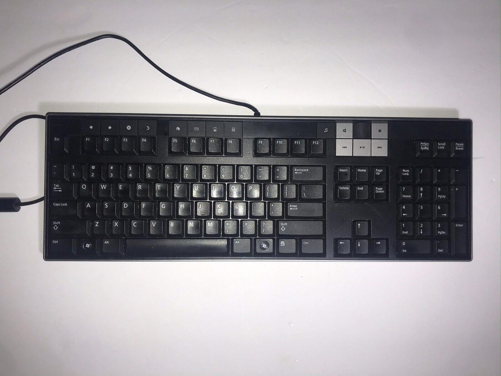 Dell U473D Slim Multimedia USB Keyboard & 2 Port USB Hub Y-U0003-DEL5 Tested*. Buy it now for 11.00
