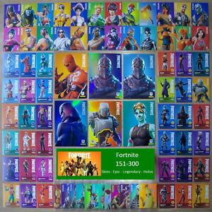 PANINI Fortnite Série 1 Carte Nº 246 The Ace Epic tenue