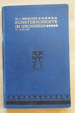 Historia del arte en el plano de planta Cranach Durero broecklin Schinkel Anike Países Bajos