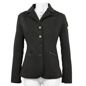 Details zu Equiline Hebe Ladies Softshell Competition Show Jacket black size I 44 + 48