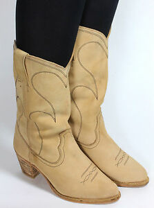 Details about Cowboy Boots Western Boots Catalan Style Line Dance Texas Leonardo 35,5 36
