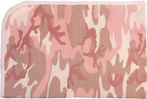 infant receiving blanket pink camo 100/% cotton infant baby rothco 2451
