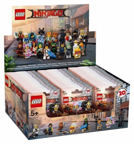 Nuevo LEGO 71019 Ninjago película Serie Caja Caja de 60 Minifiguras