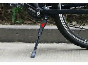 Adjustable Bicycle Cycle Middle Prop KickStands Leg Brace Side Support MTB Bike