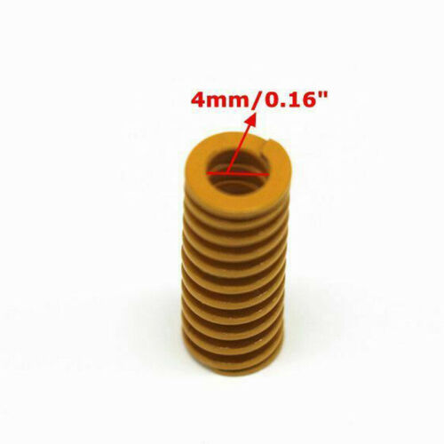 4Pcs Compression Heated Bed Springs For 3D Printers Ender 3 Creality CR-10 10S