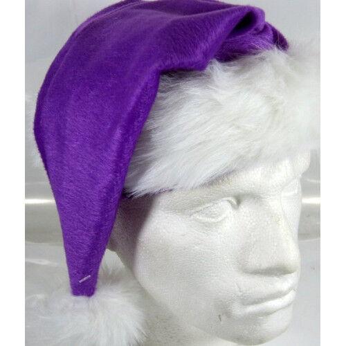 Santa Hat Plush Fine Purple 45cm Long Christmas Party for sale online  e5c20f20b01e