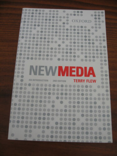 1 of 1 - NEW MEDIA -AN INTRODUCTION 2ND EDITION TERRY FLEW