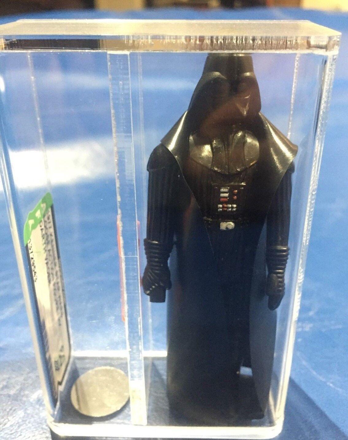 Star Wars DARTH VADER AFA 80NM Kenner vintage action figure first 12  HK