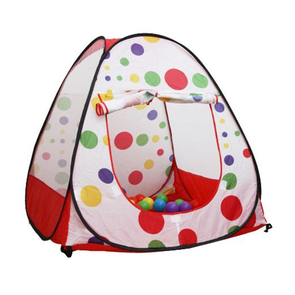 Enfants à Pois Tipi Facile Twist Tente de Jeu Maison Intérieur Extérieur Jouet