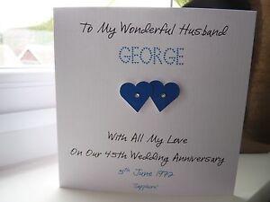 Handmade-Personalised-Sapphire-45th-65th-Wedding-Anniversary-Card-Husband-Wife