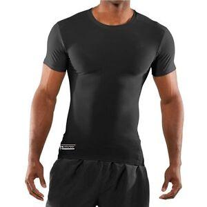 Armour 1216007 Heren 884961913742 Tactical Zwart Under Tee Compression Heatgear Shirt 3x p4qnxTdw