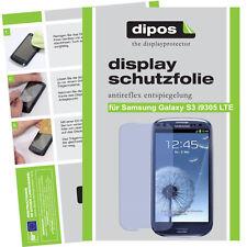 1x Samsung Galaxy s3 i9305 LTE Pellicola Protettiva Proteggi Schermo Opaco Anti Reflex