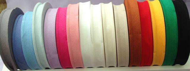 KRAFTZ® Satin Bias Binding Tape 25MM x 25M Black for Sewing Bunting and Craft
