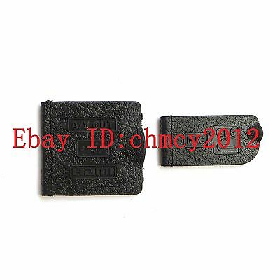 USB/HDMI DC IN/VIDEO OUT Rubber Door Cover For Nikon D7000 Camera Repair Part