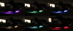 "FIAT led underbody multi color kit remote 2X36"" 2X24"" light strips"