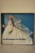BARBIE GRACE KELLY THE BRIDE DOLL, GRACE KELLY SILKSTONE DOLLS COLLECTION, NRFB