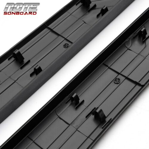 Fit For 14-18 Toyota Tundra 6.5 Ft Bed OE Style Pair Side Trim Panel Black