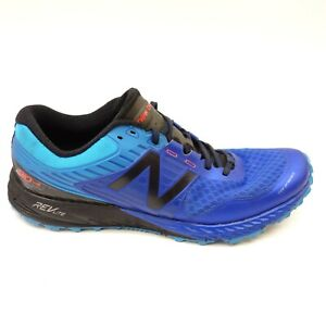 a74f410e6c55 New Balance Mens 910 V4 Light Weight Blue Trail Running Shoes Size ...