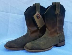 Red-Wing-Irish-Setter-Mens-Deadwood-Square-Toe-Cowboy-Western-Boots-2825