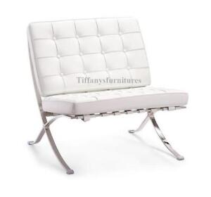 Modern Classic Mid Century Design Chair In Pu Leather Free Shipping 3000 Ebay