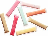 Zip-a-Pop Disposable Quality Popsicle Mold Bags. Zip-Top Ice Pop Bags for Ice