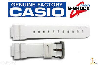 CASIO G-Shock DW-6900SN-7 White Rubber Watch BAND DW-6900WW-7 DW-6900SN-7