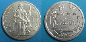 1 Franc 1996 Polynesie Francaise - Splendide Ture 100% Garantie