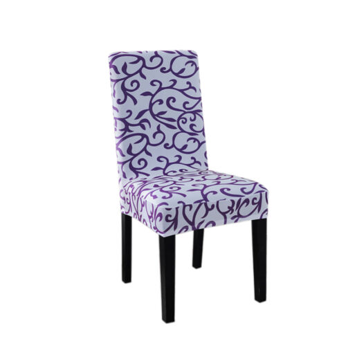 Stretch Spandex Dining Room Wedding Banquet Decor Chair Cover WashableSlip*HGUK