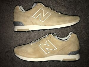 meet 0858c cb179 Details about New Balance 1400 Suede Classic Beige Khaki Tan Made in USA  M1400BE Size 12