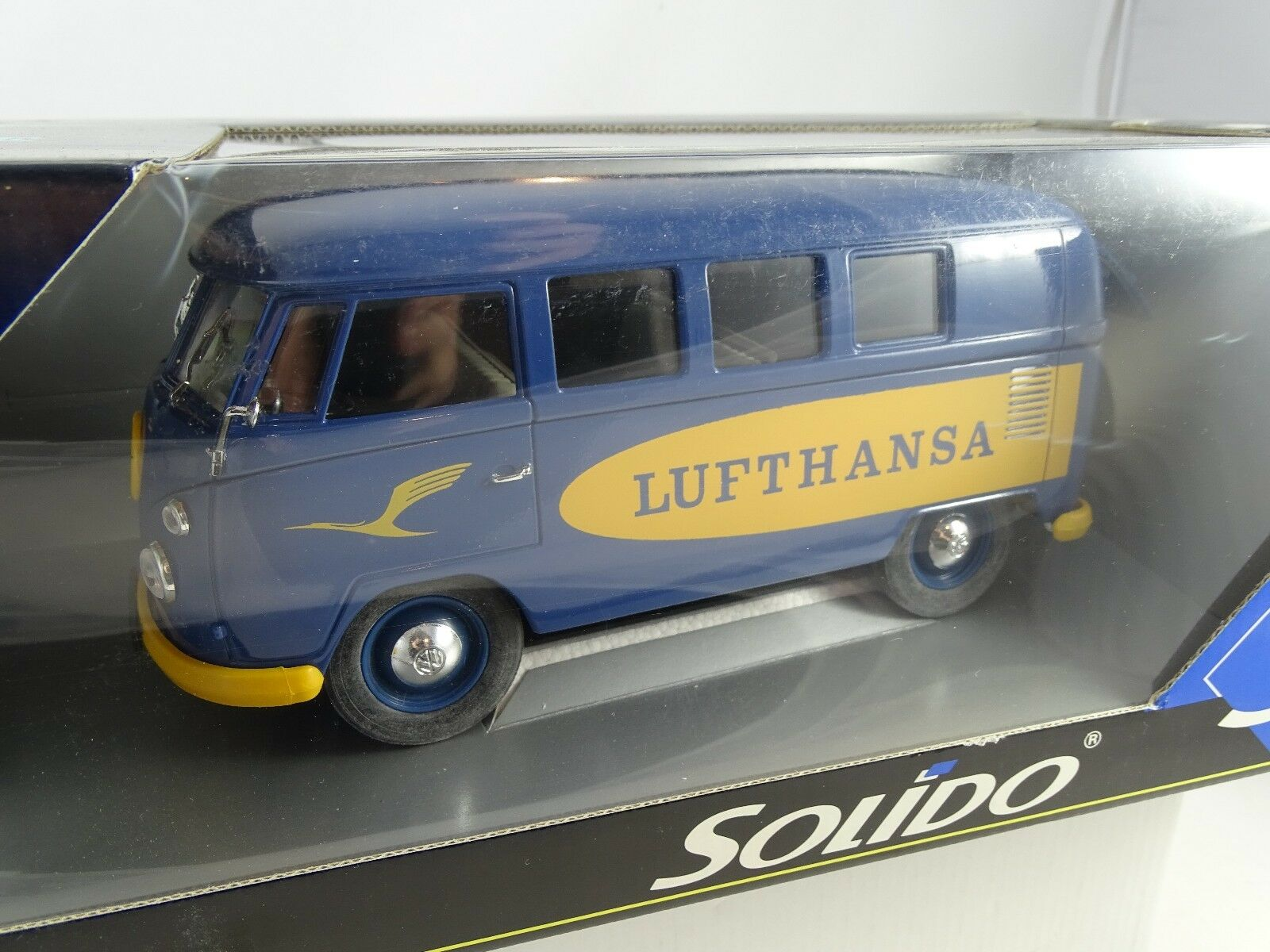 1 18 solido VW Bully autobús lufthansa rareza rareza §