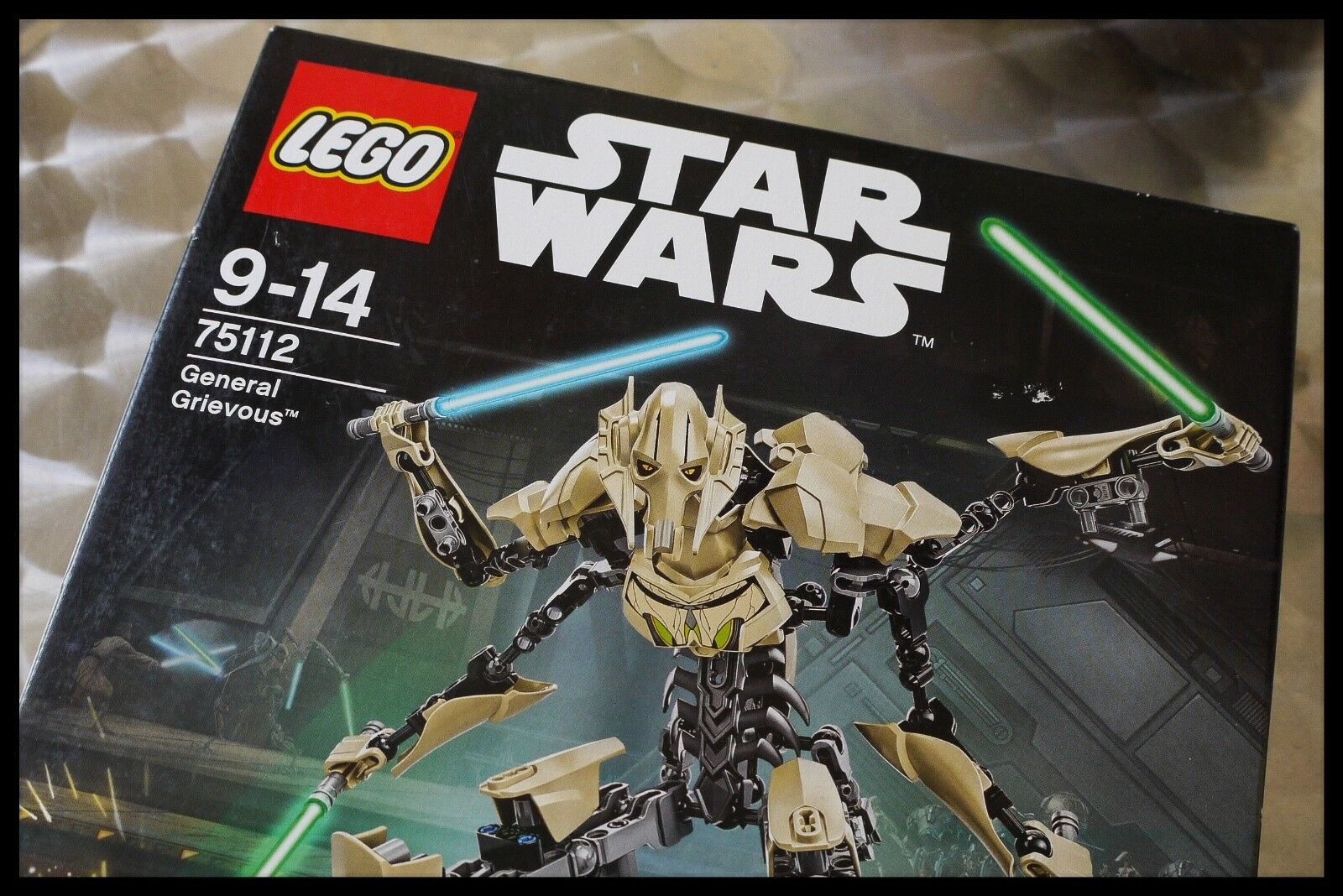 LEGO STAR WARS 75112 GENERAL GRIEVOUS BUILDABLE FIGURE NEW AND SEALED RETIROT
