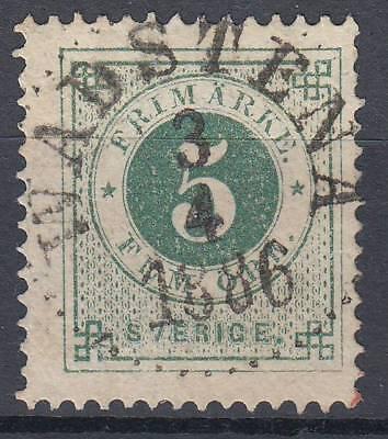 Hilfreich 22069 19 B Wadstena Luxus-stempel Moderater Preis Schweden Mi.-nr