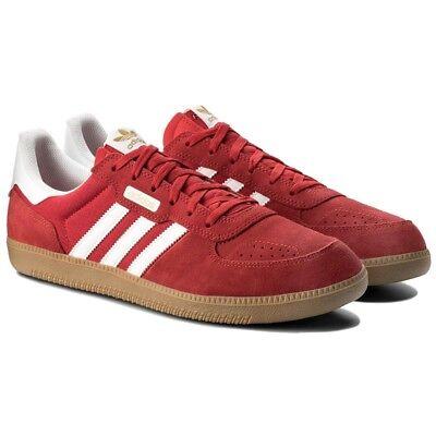 MüHsam Adidas Mens Leonero Shoes Suede Trainers Retro Vintage Originals 8.5/9.5/10.5 Das Ganze System StäRken Und StäRken