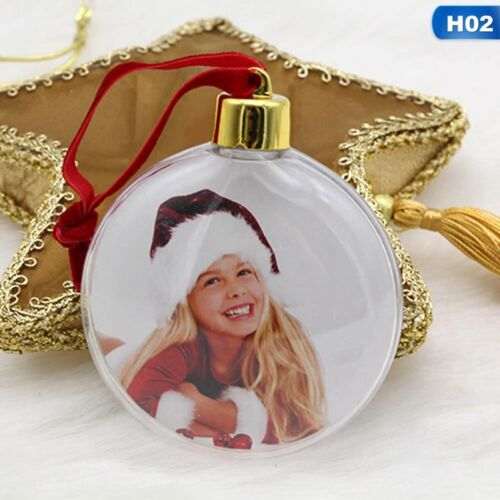 Christmas Photo Frame Pendant Tree Picture Hanger Home Party Decor 2018