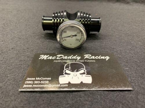 MacDaddy Racing Honda ATC 250r Billet Coolant Temperature Gauge Radiator