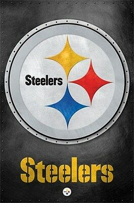 PITTSBURGH STEELERS LOGO POSTER Amazing RARE HOT NEW 24x36