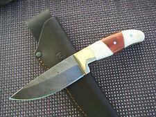 Damast Messer Kamelknochen Pakkaholz Damastmesser 231 Gramm Top Handarbeit Neu