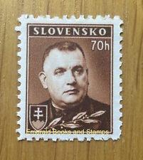 EBS Slovakia Slowakei Slovensko 1939 Mgr. Jozef Tiso Michel 68 MNH**