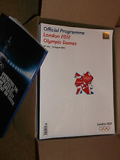 LONDON 2012 OFFICIAL PROGRAMME FOR OLYMPIC GAMES 27 July-12 August MINT UNOPENED