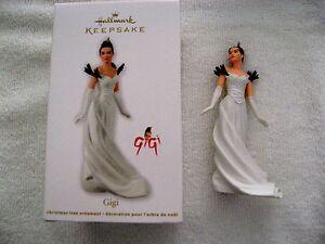 2012 Hallmark GIGI MOVIE ACTRESS Ornament LESLIE CARON New