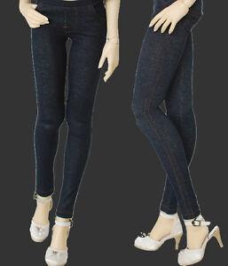 13 Sd Pullip Dot Bjd Doll Clothes Dark Blueblack All Match Jeans