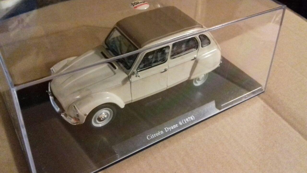 1:24 Auto Vintage Deluxe Collection Citroen Dyane 6  1978