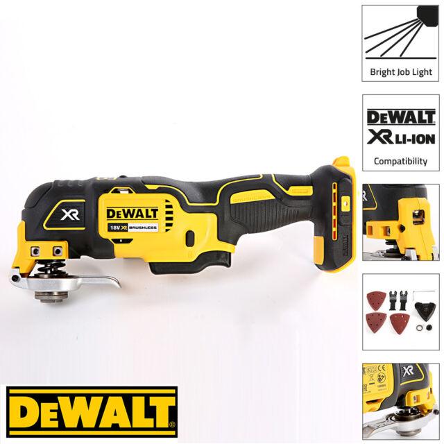DEWALT DCS355N 18V XR Brushless Oscillating Multi Tool